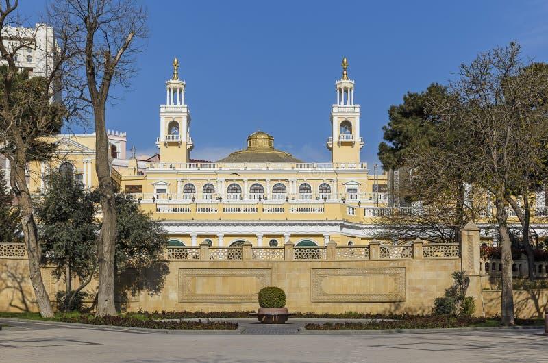 Société philharmonique d'état à Bakou image stock
