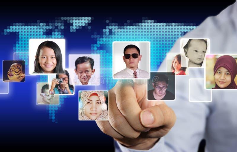 Sociaal de Media van Internet Concept stock fotografie