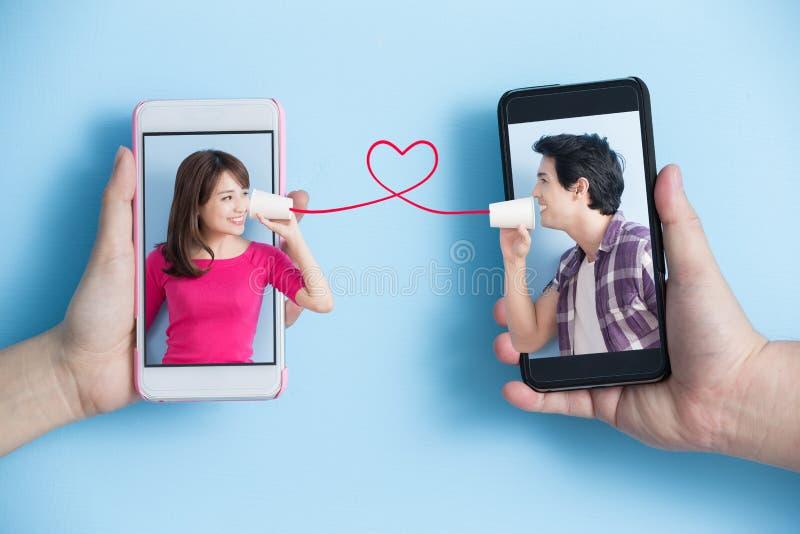 Sociaal media concept royalty-vrije stock foto's