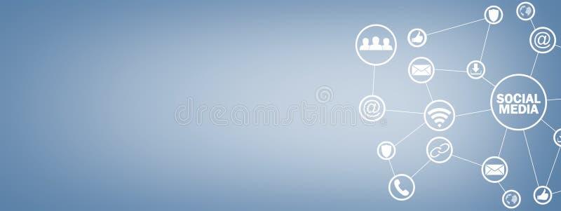 Sociaal media concept Zaken, Technologie, Mededeling stock afbeeldingen