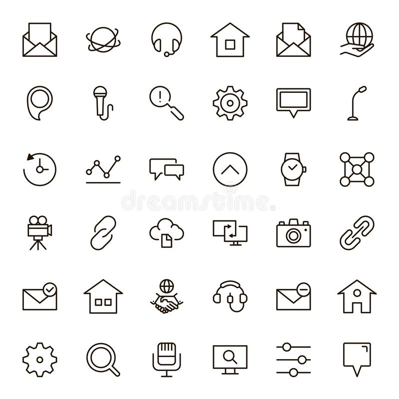 Sociaal media pictogram vector illustratie