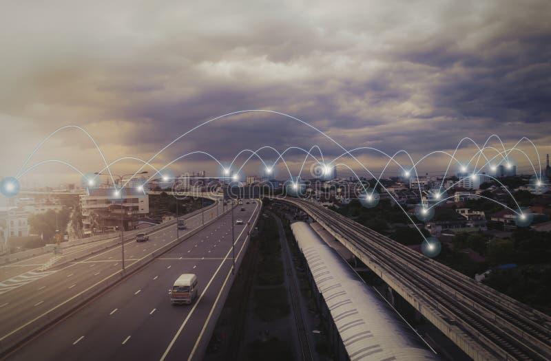 Sociaal Netwerk en Mobiel stock fotografie