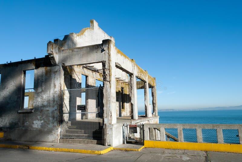 social офицера s залы alcatraz стоковое изображение