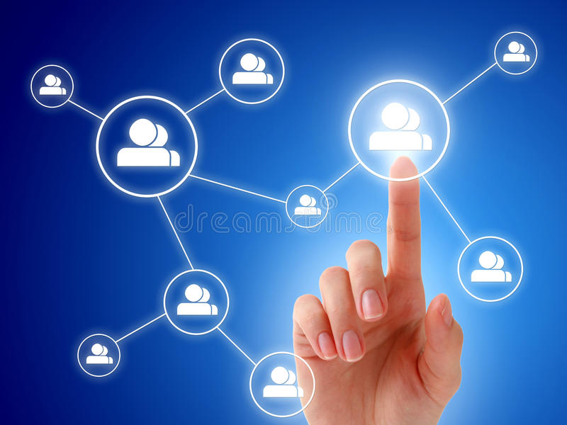 social сети принципиальной схемы