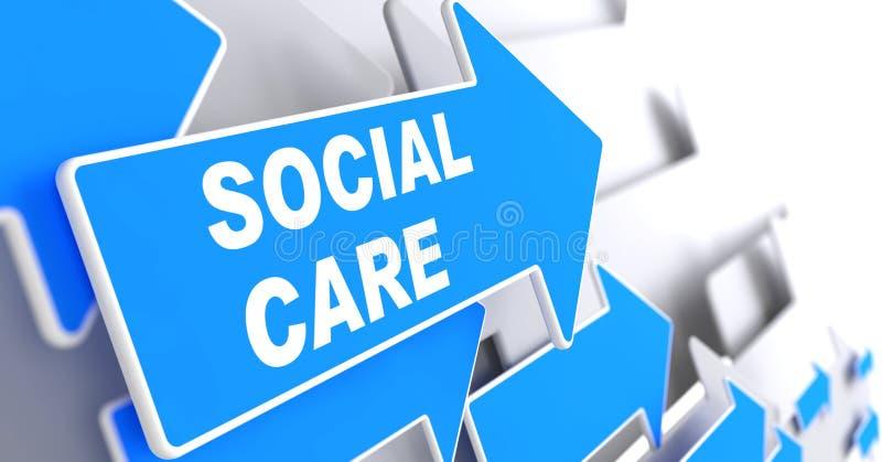 Social Care. royalty free illustration