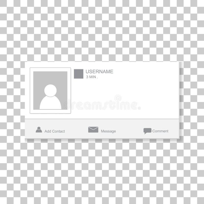 Social fotoram Kontaktar mallramen Sätt in din pi royaltyfria bilder