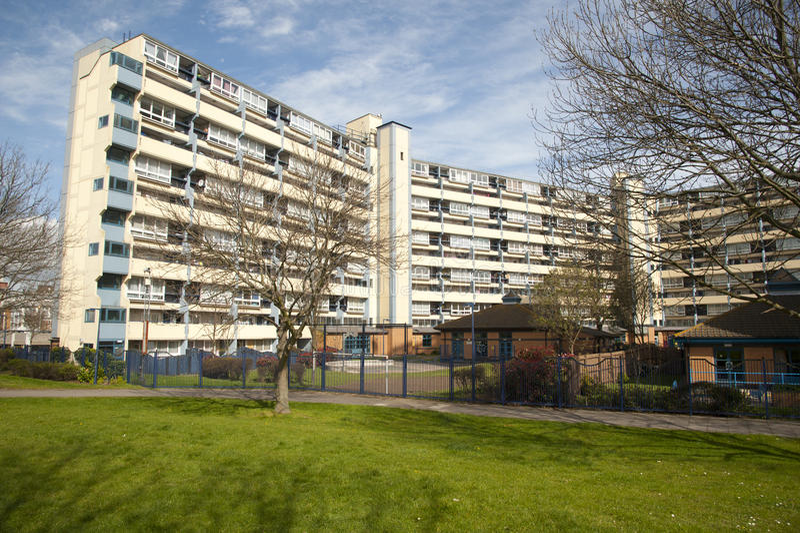 Social housing stock photo