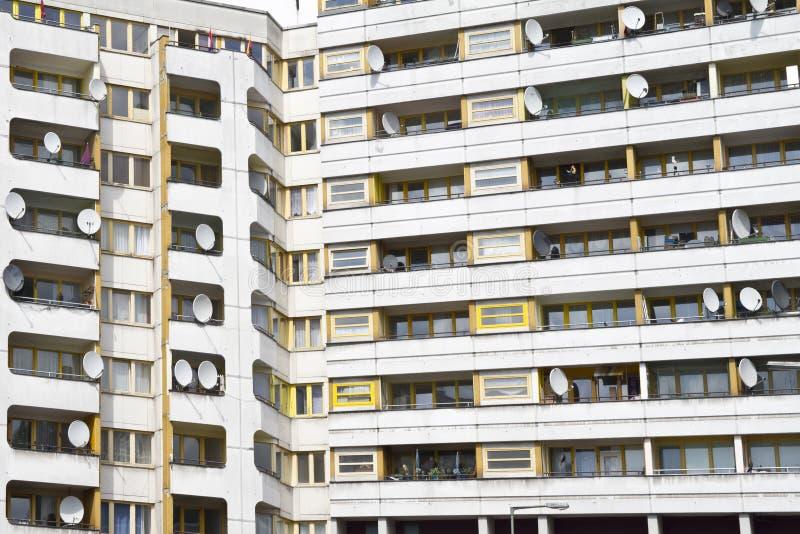 Social housing Berlin. Social housing in Berlin, Kottbusser Tor stock photography