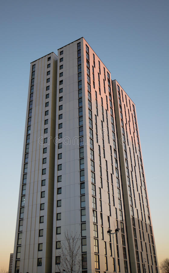 Social Housing High Rise UK stock photography
