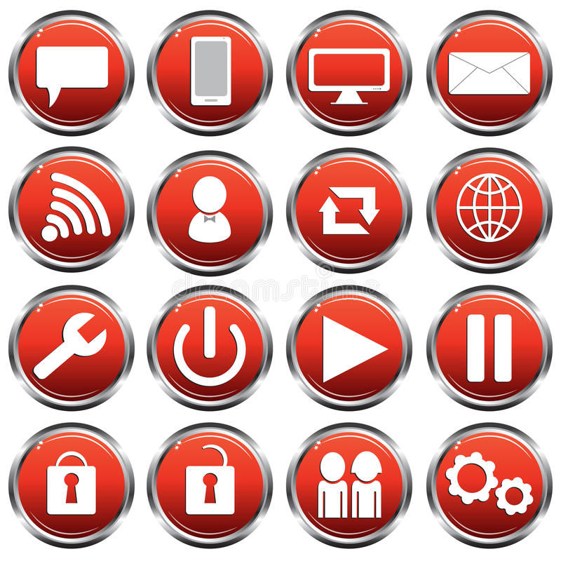Social Icons royalty free stock photography
