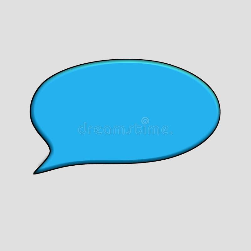 Social massmediastämmabubbla vektor illustrationer
