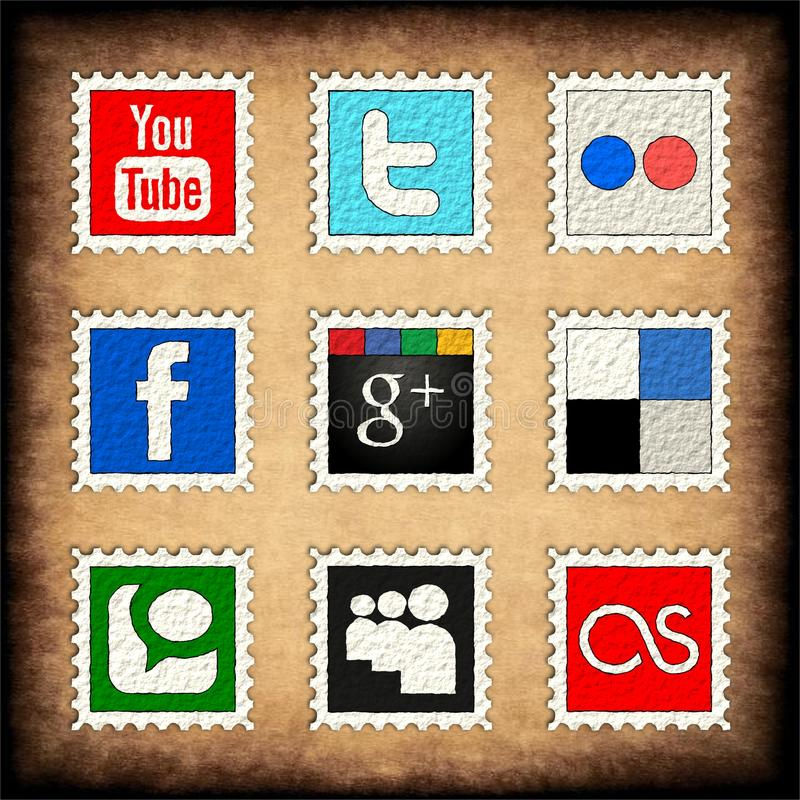 Download Social media editorial photography. Image of twitter - 20578912