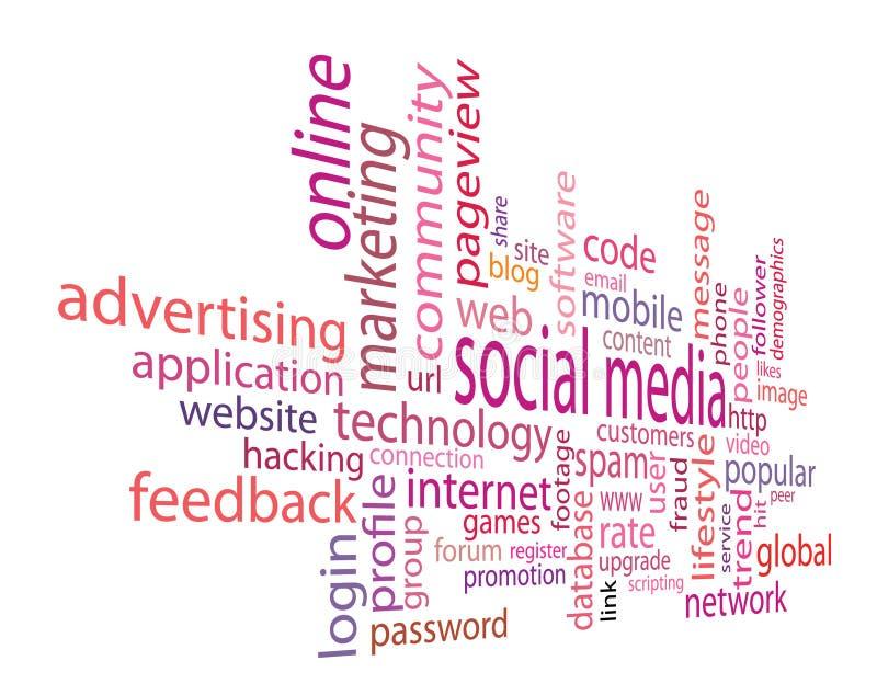 Social Media stock abbildung