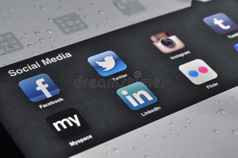 Download Social Media Applications On Ipad Editorial Image - Image: 28829550