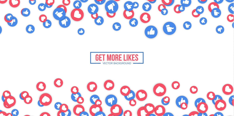 Facebook Likes Stock Illustrations – 466 Facebook Likes Stock