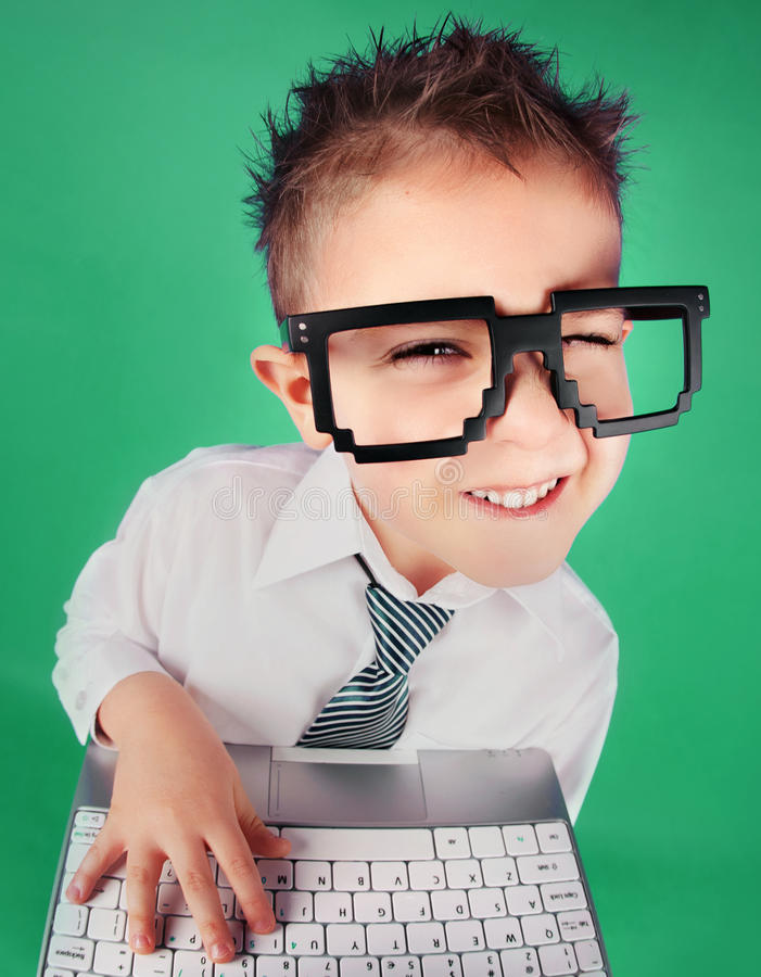 Download Social media concept stock photo. Image of cheerful, child - 35550244