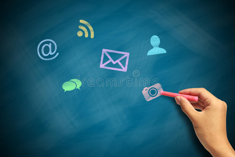 Social Media Concept 3 royalty free stock image