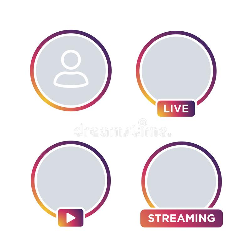 Free Social Media Instagram Icon Avatar Stories User Royalty Free Stock Photography - 113631387