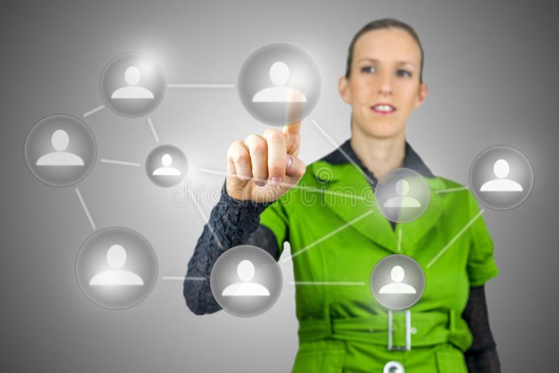Social Media-Konzept lizenzfreies stockfoto
