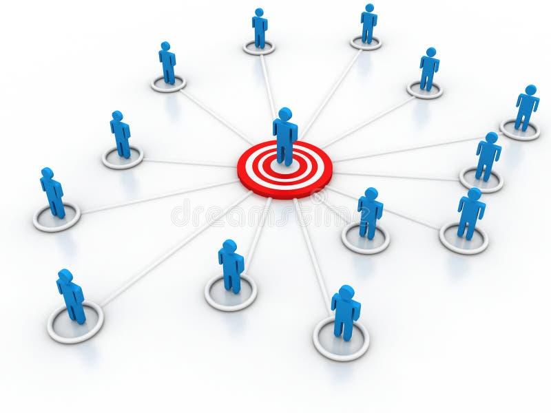 Social Media Marketing. On white background vector illustration