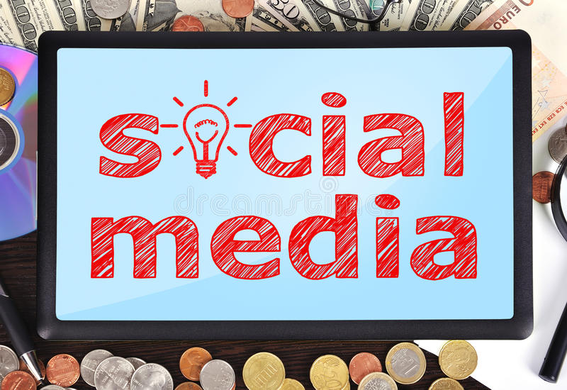 Download Social media stock image. Image of computer, media, cent - 34361083