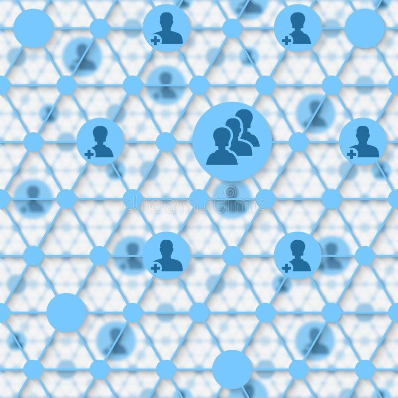 Social media network. Vector illustration. eps 10 royalty free illustration