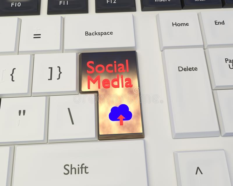 Social Media and Social Networking Concept stock photo
