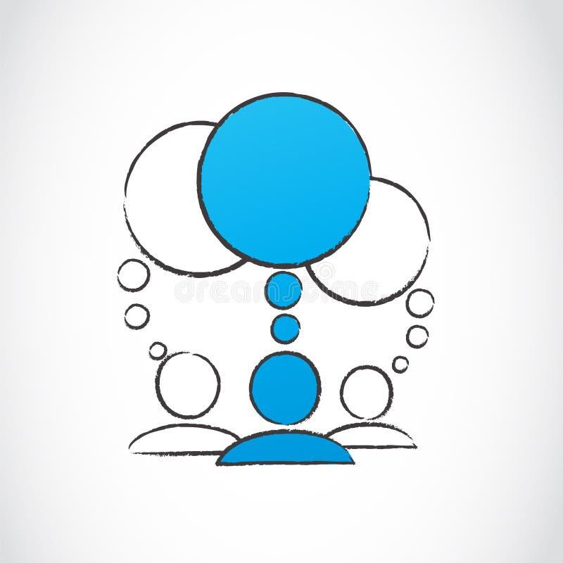 Download Social Media People Conversations Stock Vector - Image: 27410859