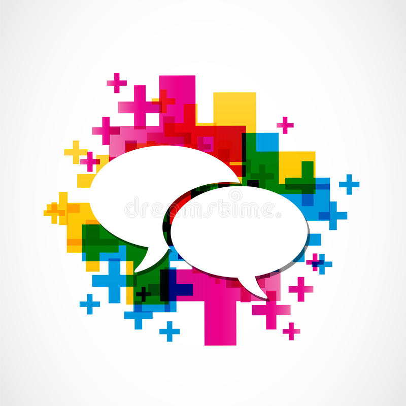 Download Social Media Positive Speech Group Stock Vector - Image: 30602008