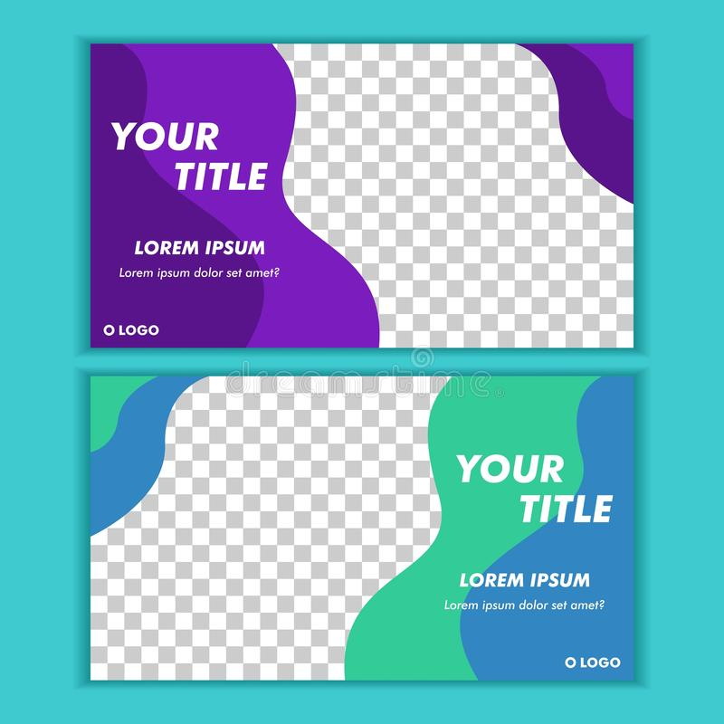 Social Media Post Template Banner Design Vector. Suitable for anything vector illustration