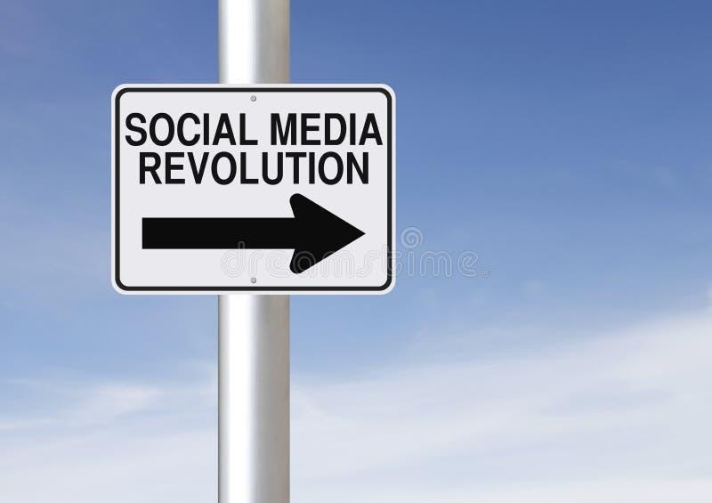 Download Social Media Revolution stock image. Image of arrow, blue - 34322531