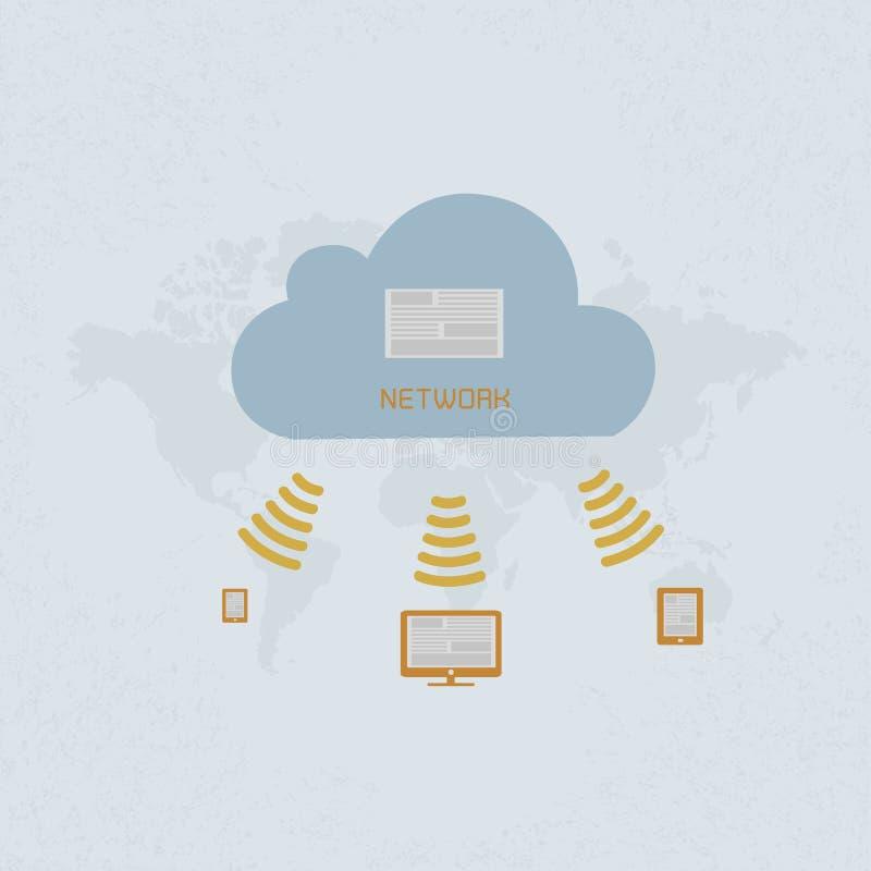 Social Media , Social Network. Eps 10 format stock illustration