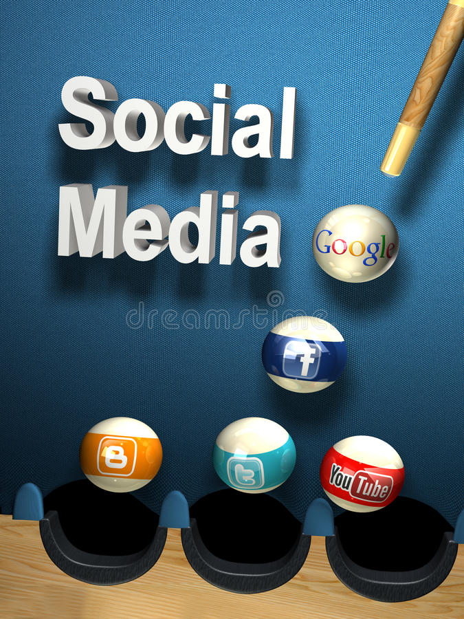 Download Social media editorial image. Image of blue, black, ball - 33280615