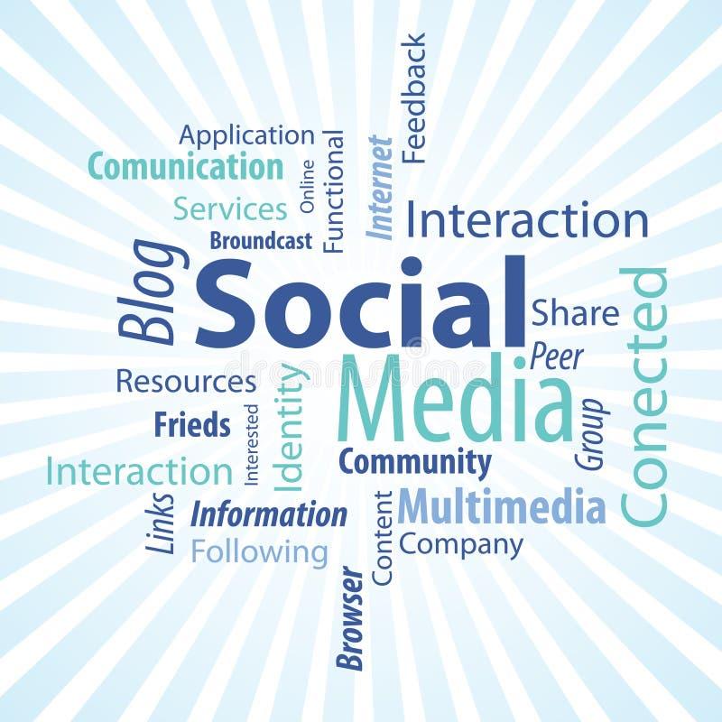 Social Media Type Royalty Free Stock Photos
