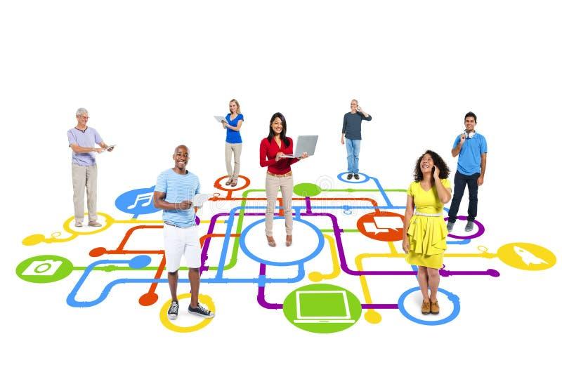 Social-Media-Verbindung