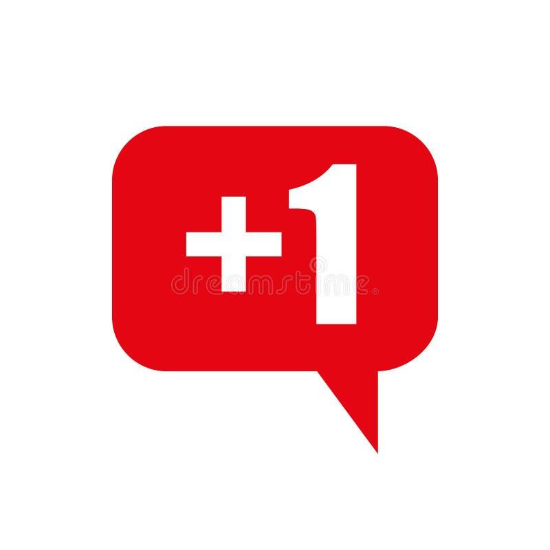 Social nätverkssymbolspacke Som följer kommentaren, vektor illustrationer