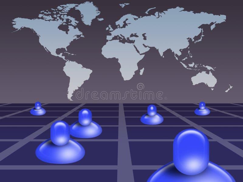 Download Social network (03) stock illustration. Illustration of organization - 13847087
