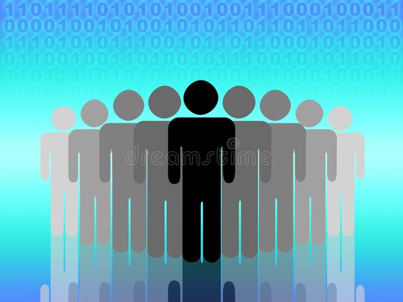 Social Network (05) royalty free illustration