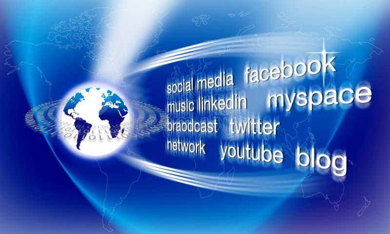 Social Network Editorial Photo