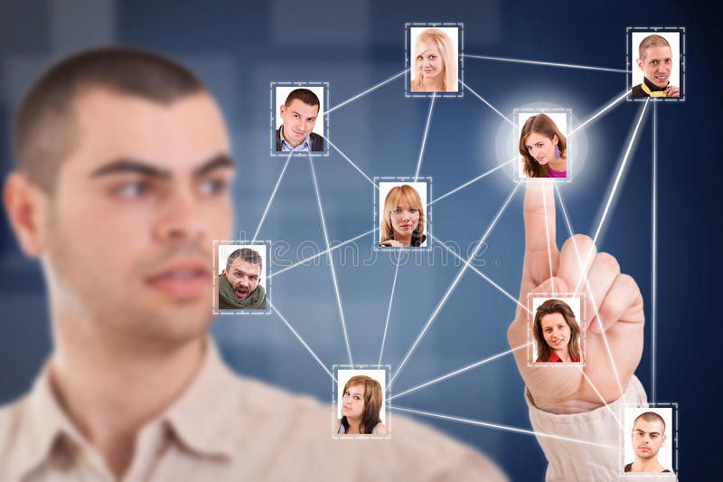 Download Social network stock image. Image of business, mail, like - 23803809