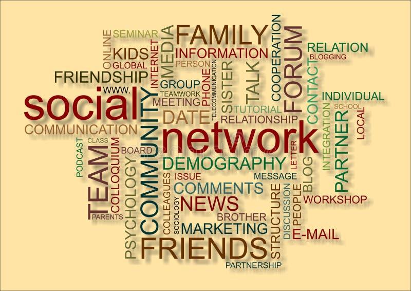Download Social network stock illustration. Image of date, demography - 23952210