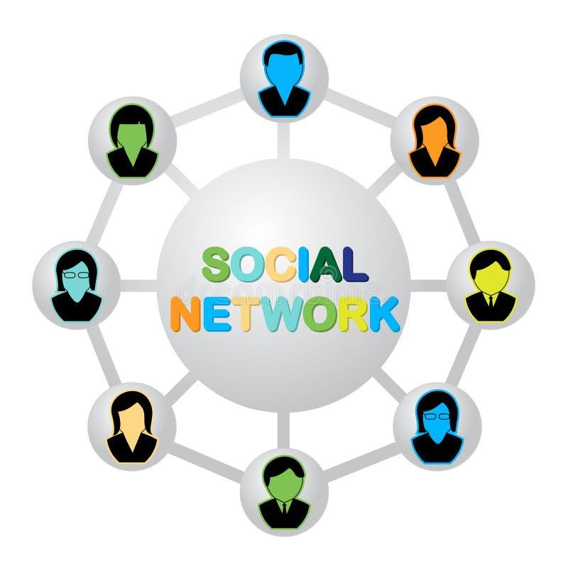 Download Social network stock vector. Illustration of illustration - 26172690