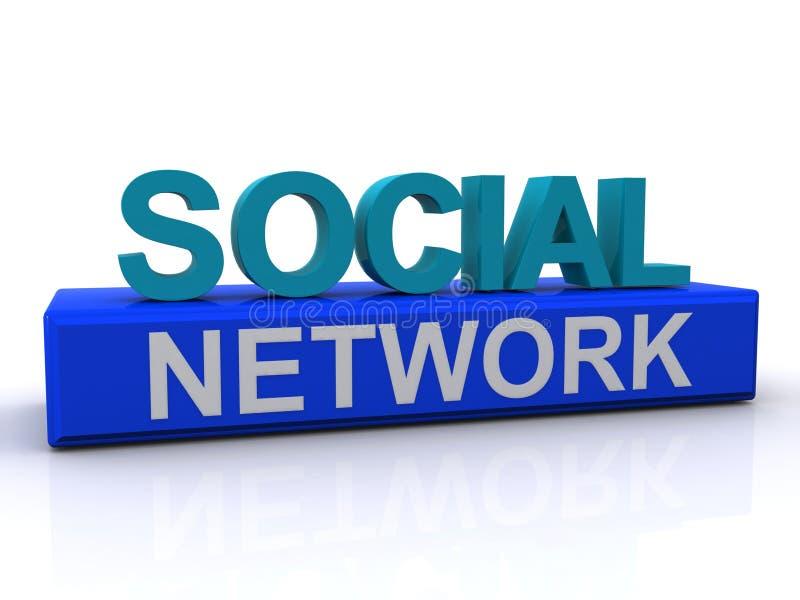 Download Social network stock illustration. Image of social, illustration - 26474881