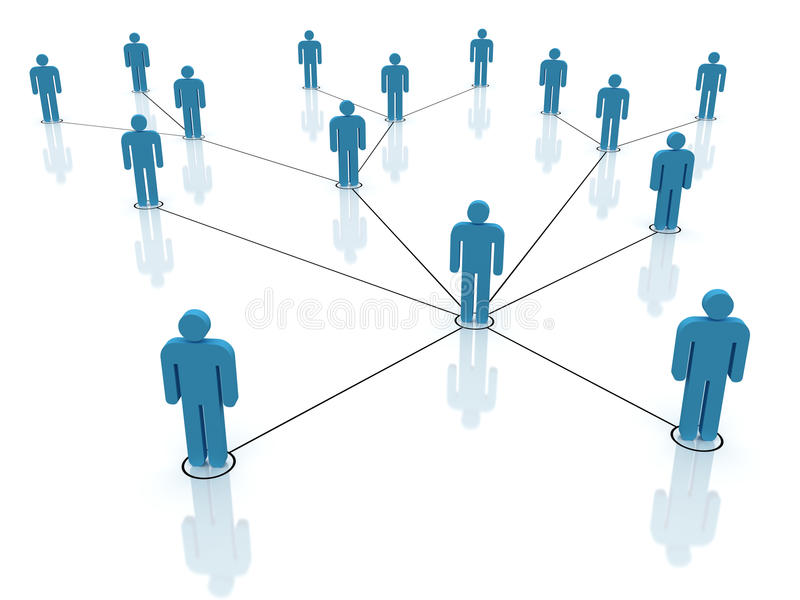 Download Social network stock illustration. Image of contact, connect - 29317609