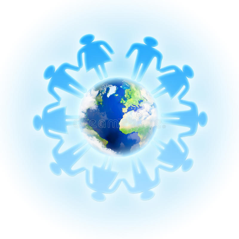 Download Social network concept stock image. Image of global, group - 21570441