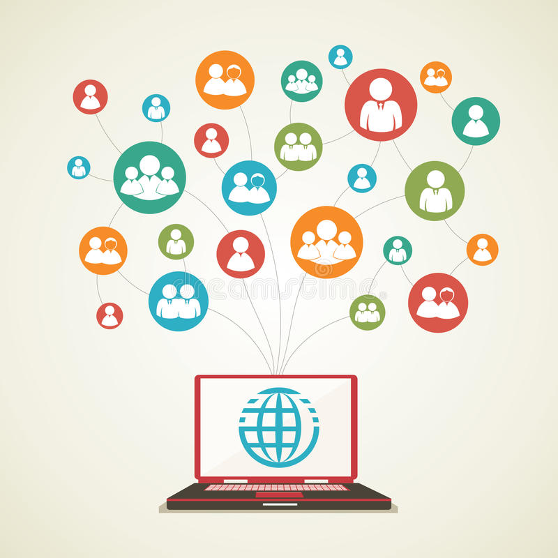 Download Social Network concept stock photo. Image of business - 28229456