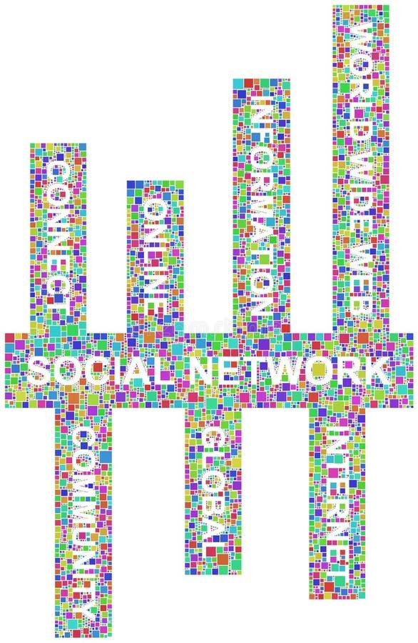 Download Social network keywords stock image. Image of community - 25825583