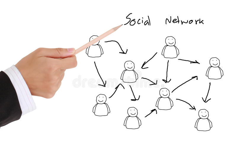 Download Social network structure stock image. Image of communication - 20586103