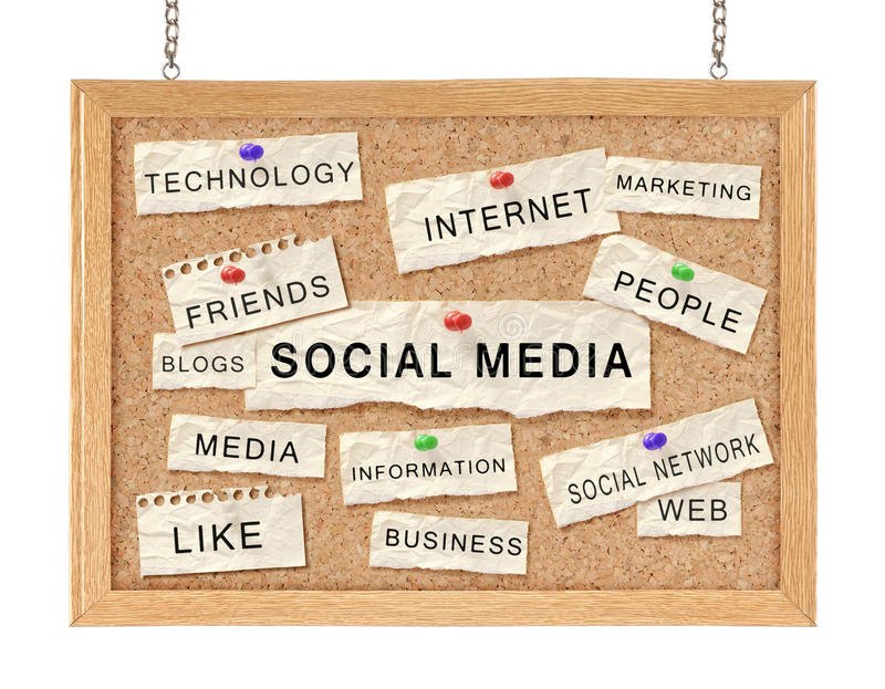 Download Social networking concept stock illustration. Image of paper - 22491421