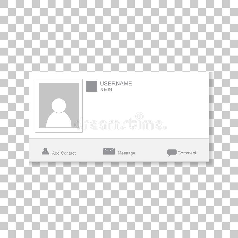 Social photo frame. Contacts template framework. Insert your pi royalty free stock images